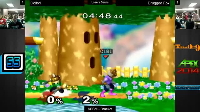 Druggedfox doesn't have time for your upsmash