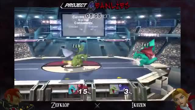 Zen's AMAZING 15% to death combo on Zefklop