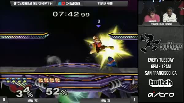 NMW's accidentally amazing Falcon Punch