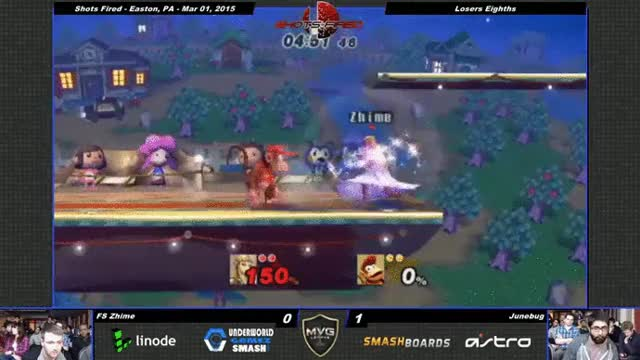 Zhime with a crazy 0-death on Junebug last weekend