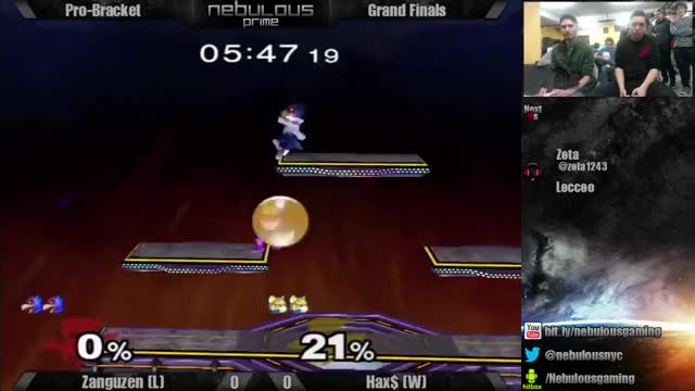 Hax zero to deaths Zang off one whiffed utilt