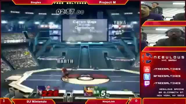 DJ Nintendo's incredible comeback vs NinjaLink