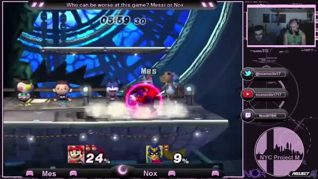For every one I post Nox probably has a million (Mario Combo Gif)