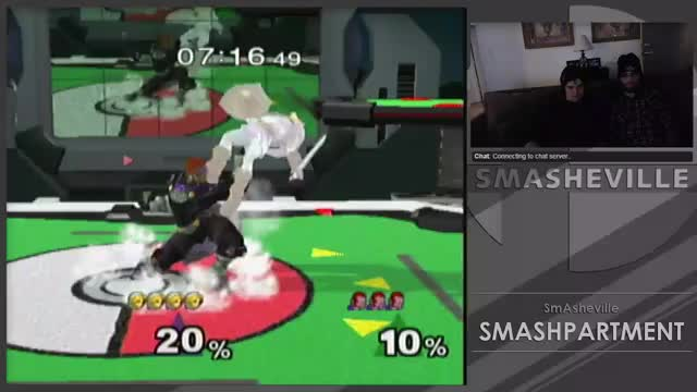 Link gets a triple-hit dair to IASA uair on Ganondorf – Deals 42% damage in 1.5 seconds