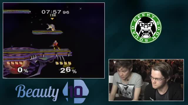 Leffen's Insane SDI gets him a quick stock[Armada vs. Leffen Beauty10 GF]