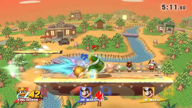 Just your average Dedede combo string.