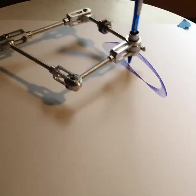 Gear-driven drawing machine