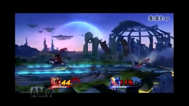 A really nice little finishing sequence from aMSa's Greninja against Lea.