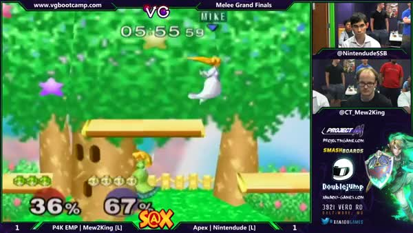 M2K vs Nintendude: How to lose Peach dittos in a bit over 2 minutes