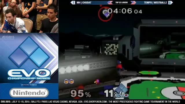 ChuDat eliminates Westballz using SoPo at Evo 2015