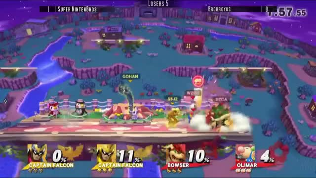 This is why Double Captain falcon teams are awesome IQHQ Gohan and Troy