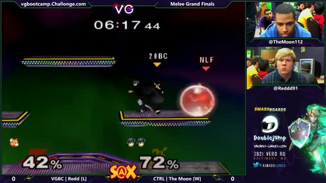 In Lieu of S4 patch notes and the take over of this sub, we need more Melee: TheMoon slices Redd for the win Game 1 in GF Smash @ Xanadu Weekly