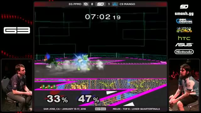 Mango's nutty uptilt string on PP
