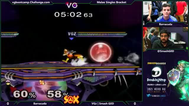 Stomp -> knee -> taunt -> lose