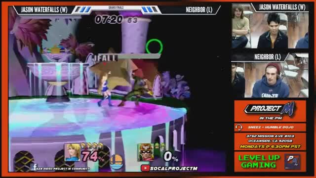 Jason Waterfall's crazy platform play against Neighbor at PM in the PM