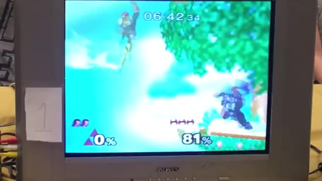n0ne dairs Linguini to try and edgeguard him (Falcon/Ganon)