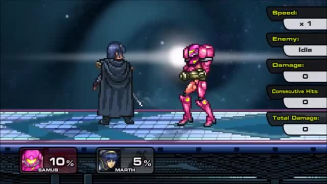 Samus' Pillar Combo in SSF2!