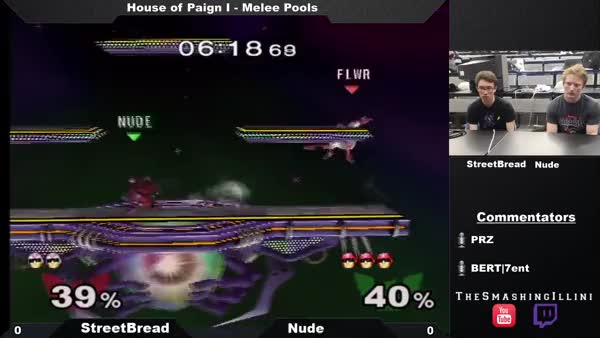 Most Optimal Falcon Edgeguard