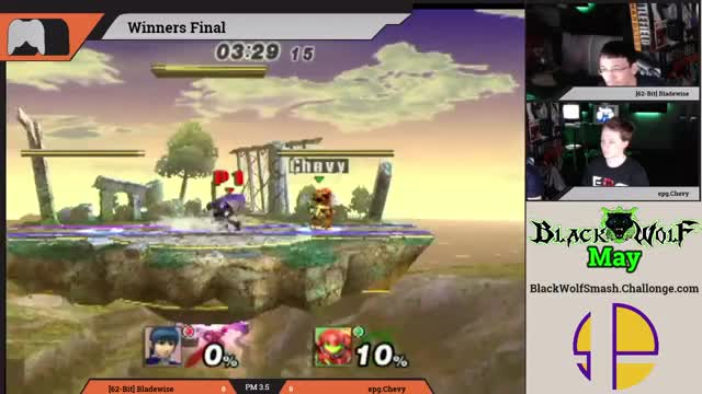 The first recorded instance of ice f-smash working properly.