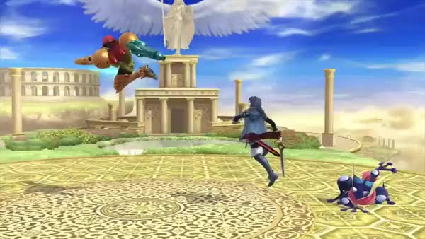 Take a look at that ending lag. Looks almost exactly like Marth's L-cancelled nair.