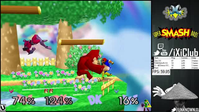 Who doesn't like a game-ending TEAM combo w/ DK and a Falcon Punch?