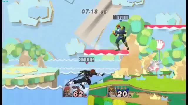 Footstool to Falcon Punch
