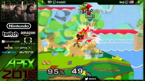 Everything about this recovery by Armada against Mango at Apex 2015 was GOD-like