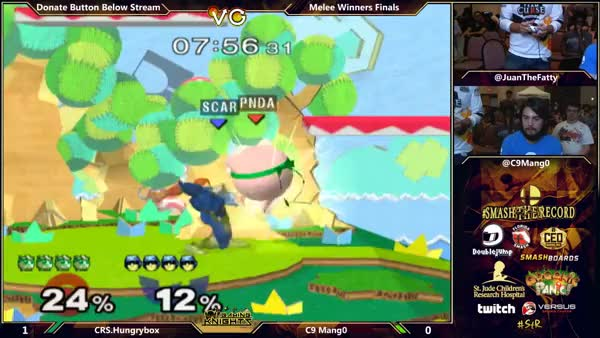 Mang0 with the insane rest punish