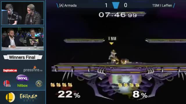 Armada reverses the situation off a tech misread
