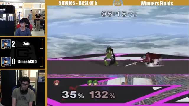 [Marth] Smashg0d's good at Melee and Zain's good at Tekken.