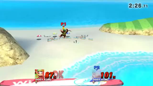 The most optimal way to end a Diddy Kong ditto