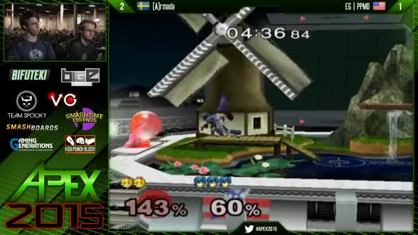 PPMD and Armada's amazing synchronized wavedashes.