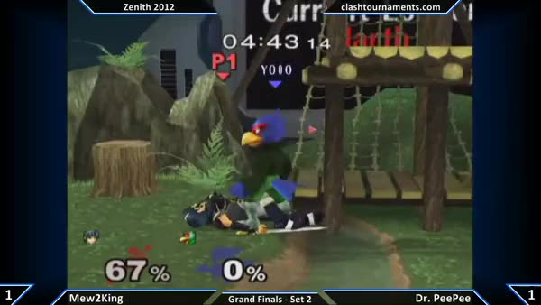 [Marth] Mew2king obliterates PPMD.
