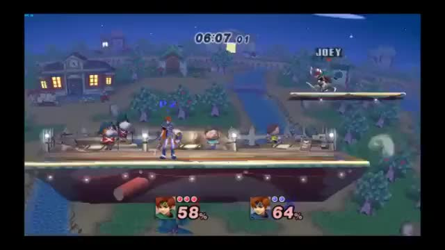 [x-post /r/SSBPM] Styling on my friend with Roy's new dair sweetspot spike