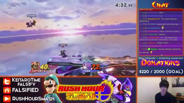 How to punish a missed Falcon Punch.
