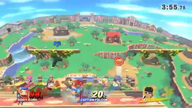 "Diddy Kong Dtilt ""0-Death"" Lock on T&C"
