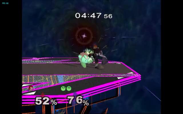 Ganon's Uptilt vs Kirby's Warlock Punch