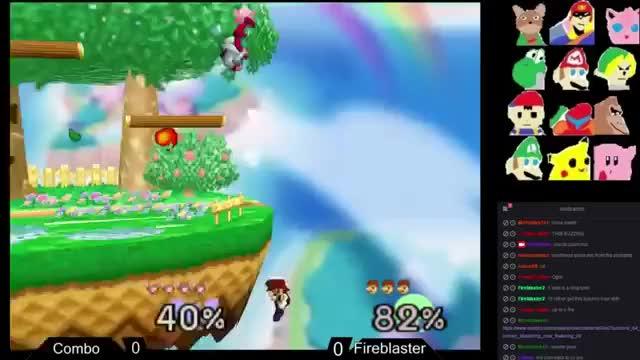 Fireblaster's Sick Mario Combo On Cpt.Falcon