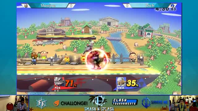 Awesome jab reset kill. (Fox)