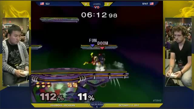[Falcon] S2J with some impressive reactions and edgeguarding
