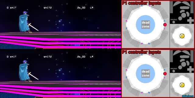 Different dash speeds (application: RC dtilt with Marth)