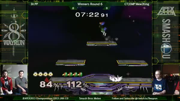 Unexpected recovery by M2K