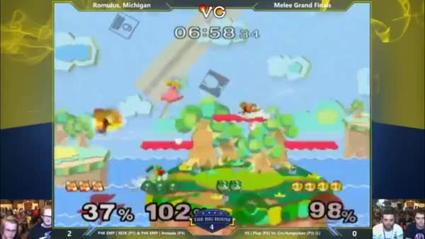 Incredible teams save by Armada @ TBH4 (x-post from r/smashbros)