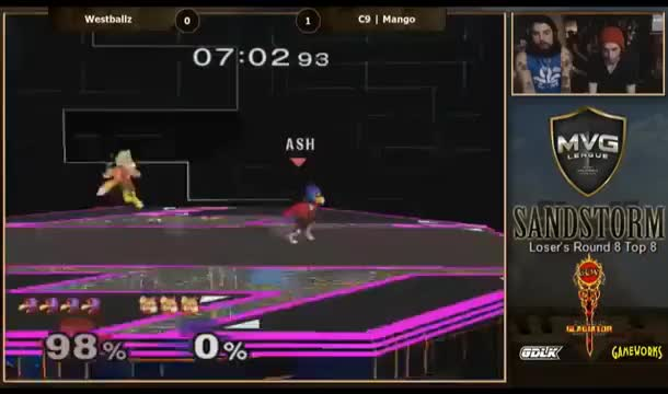 [Falco] Westballz pressure is insane