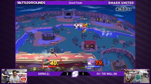 [Wii U/3DS] A nasty Yoshi string to secure a Grand Finals round