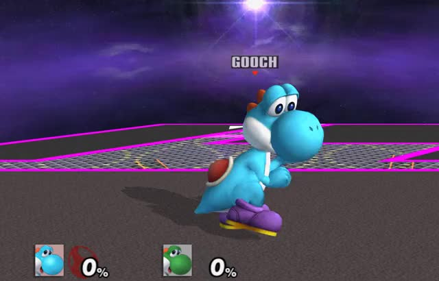 Yoshi's Double Jump Cancelled… Jump?