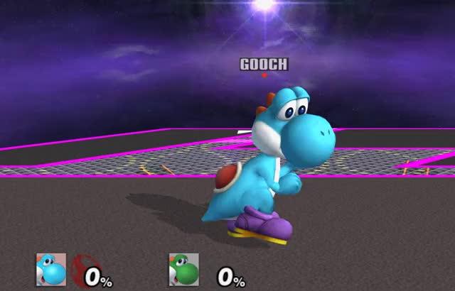 Yoshi's Double Jump Cancelled… Jump?