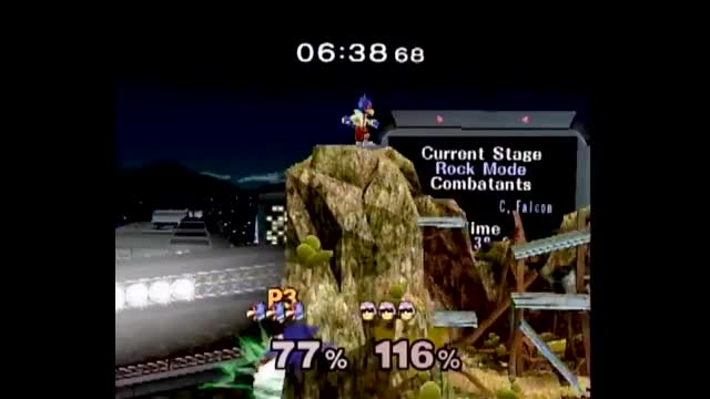 borp's falcon and the cliff fight shortens