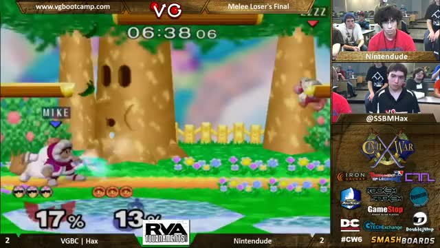 """The Crowd Winced"" Hax Falcon vs Nintendude"