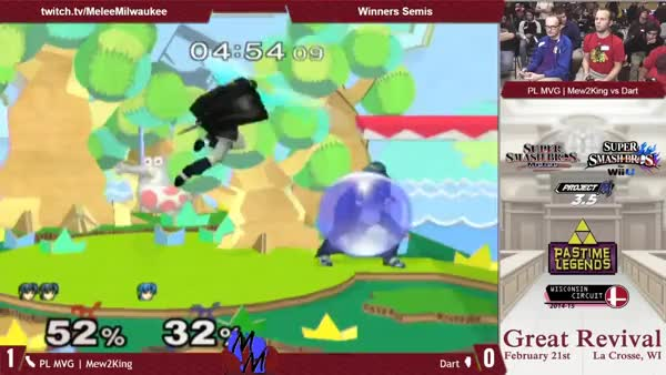 [Marth] Dart's double reverse fair to tipper